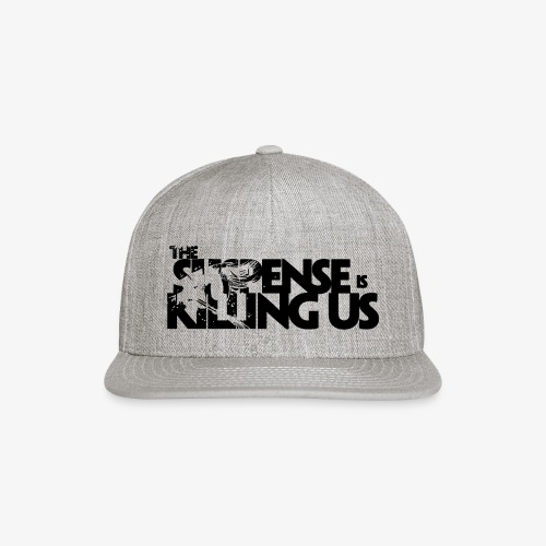 Suspense Is Killing Us Logo Black - Snap-back Baseball Cap