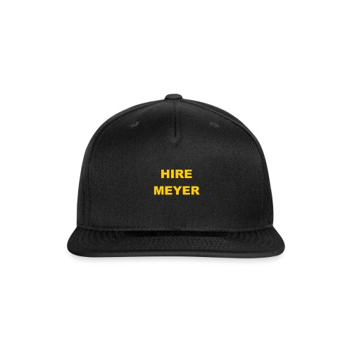 Hire Meyer - Snap-back Baseball Cap