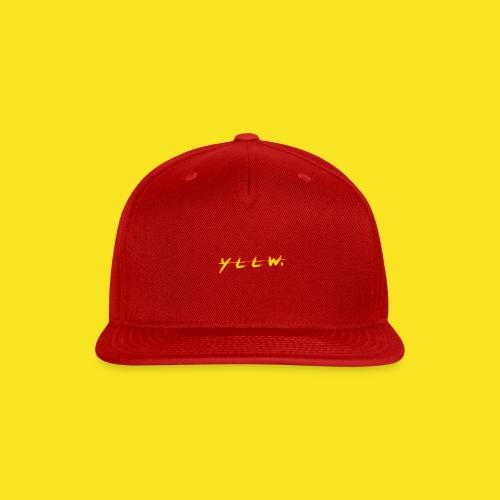 YLLW. - Snap-back Baseball Cap