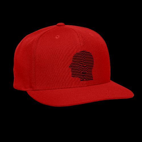 Treble Clef Cranium - Snap-back Baseball Cap