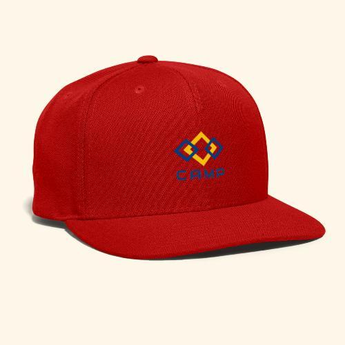 CAMP LOGO and products - Snap-back Baseball Cap
