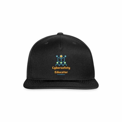 Cybersafety Educator - Snapback Baseball Cap