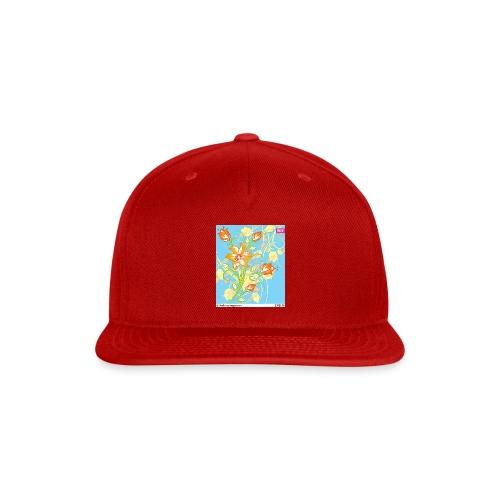 flowers67 - Snapback Baseball Cap