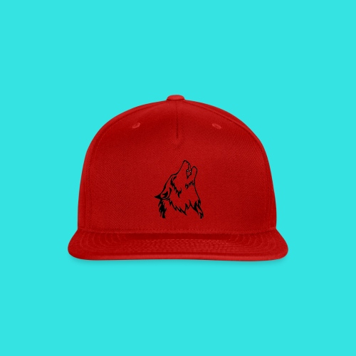Wolf (back) - Snap-back Baseball Cap
