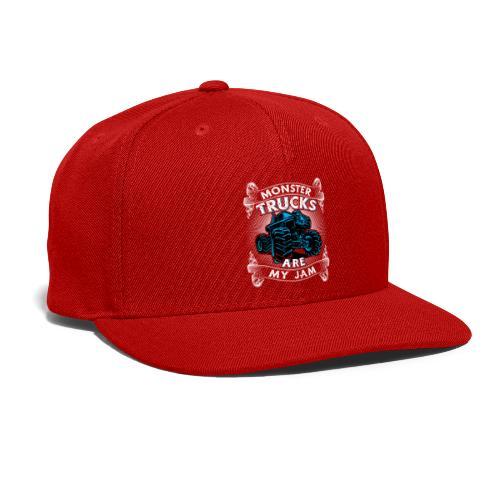 Monster trucks are my jam - Snap-back Baseball Cap