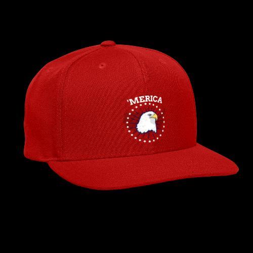 'Merica | American Bald Eagle - Snap-back Baseball Cap