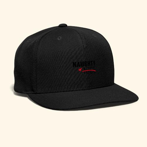 Naughty Or Nice Adult Humor Design - Snap-back Baseball Cap