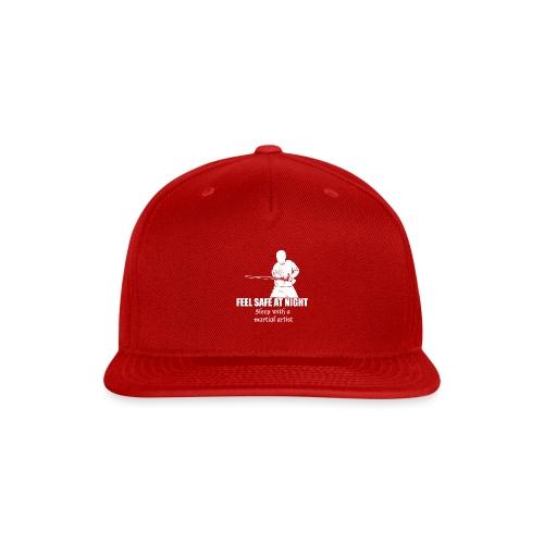 Feel safe male LS - Snap-back Baseball Cap