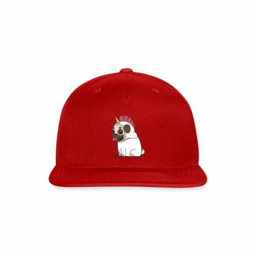 Pug Love - Snap-back Baseball Cap