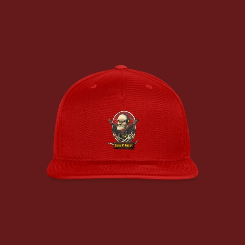 Gonz and Roses t shirt - Snap-back Baseball Cap