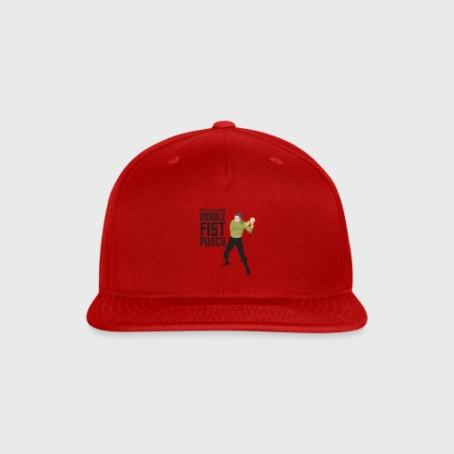 Captain Kirk Double Fist Punch - Snap-back Baseball Cap