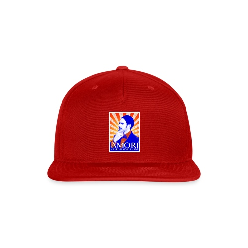 Amori_poster_1d - Snap-back Baseball Cap