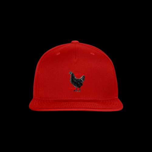 DEMONIC CHICKEN - Snap-back Baseball Cap