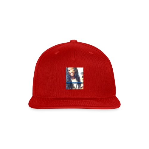 haters want to b me - Snap-back Baseball Cap