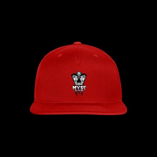 Myse clothing logo with vampire - Snap-back Baseball Cap