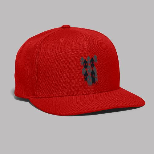 Spooky House Ghosts - Snap-back Baseball Cap
