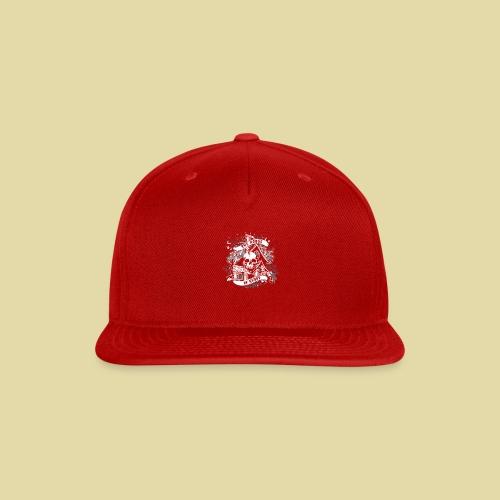 hoh_tshirt_skullhouse - Snap-back Baseball Cap