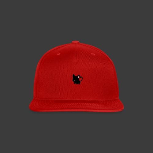 black cat hoodie - Snap-back Baseball Cap