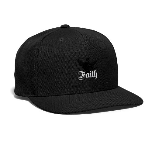 faithwings png - Snap-back Baseball Cap