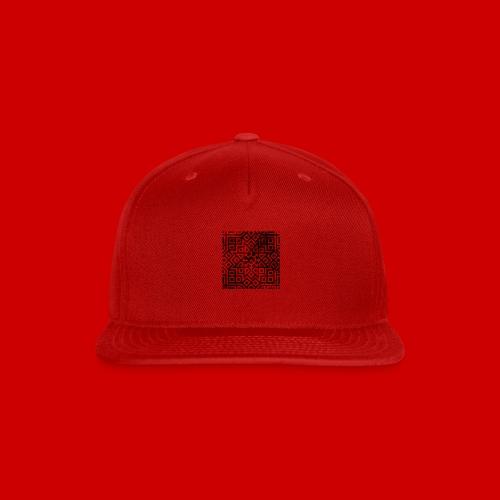 Detailed Chaos Communism Button - Snap-back Baseball Cap