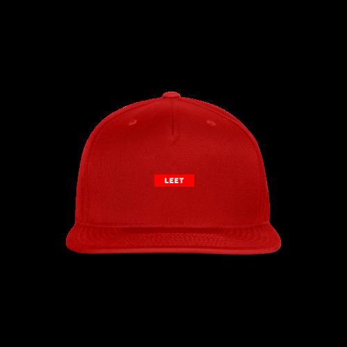 LIMITED EDITION LEET MERCH - Snap-back Baseball Cap