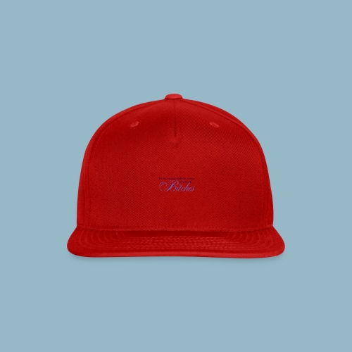 Bring on the Bitches in Eggplant - Snap-back Baseball Cap