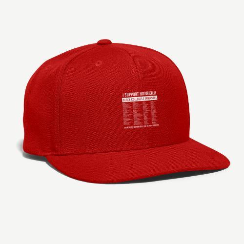 Support HBCUs List - Snapback Baseball Cap