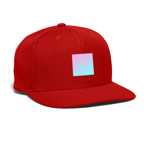 【gradient】 - Snap-back Baseball Cap