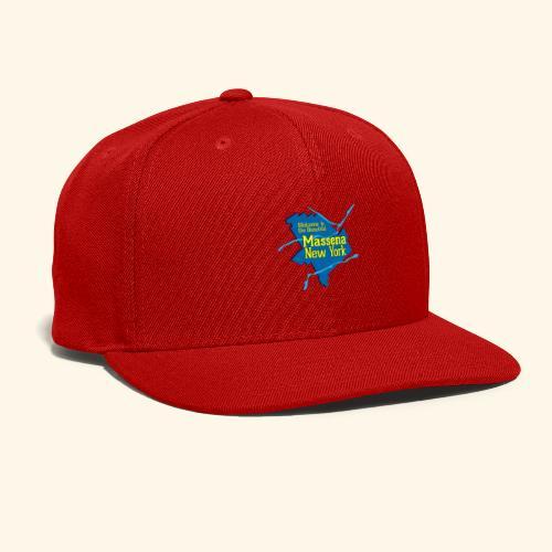 Massena NY Blue - Snap-back Baseball Cap