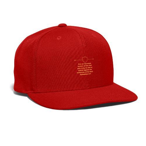 Ephesians 6:11 - Snap-back Baseball Cap