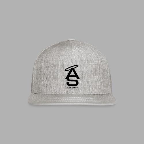 AS Black - Snap-back Baseball Cap
