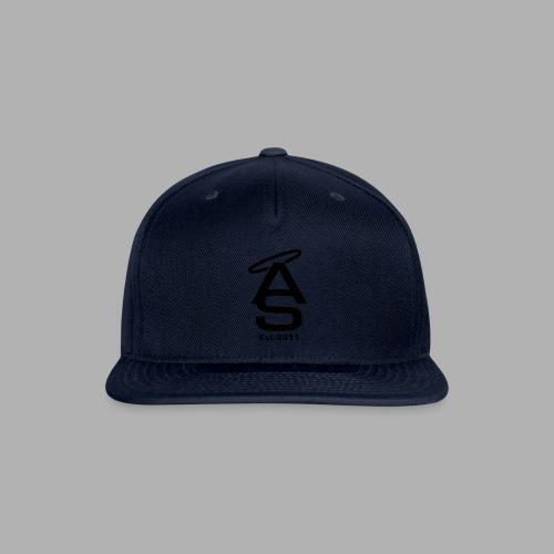 AS Black - Snapback Baseball Cap