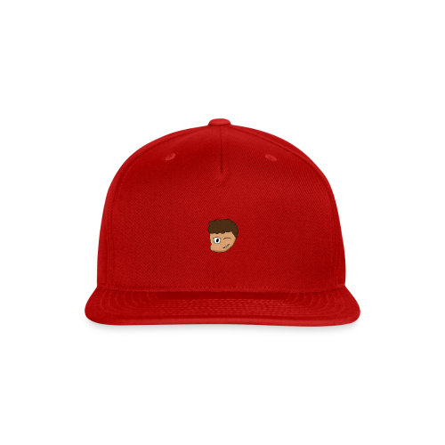 Cartoon Fat Kid - Snap-back Baseball Cap