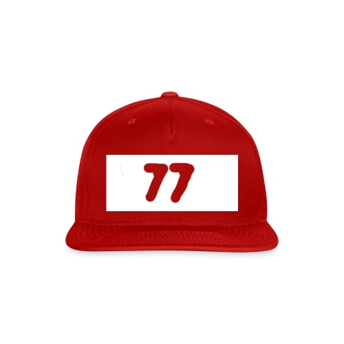 77 aftershock sweater for kids - Snap-back Baseball Cap