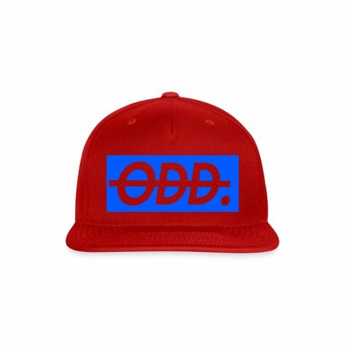ODD blue - Snap-back Baseball Cap