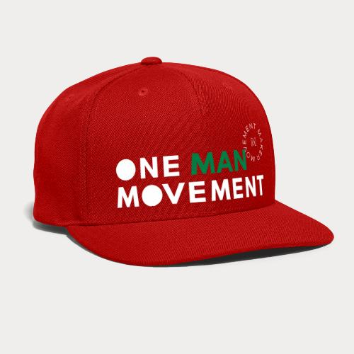 One Man Movement - Snap-back Baseball Cap