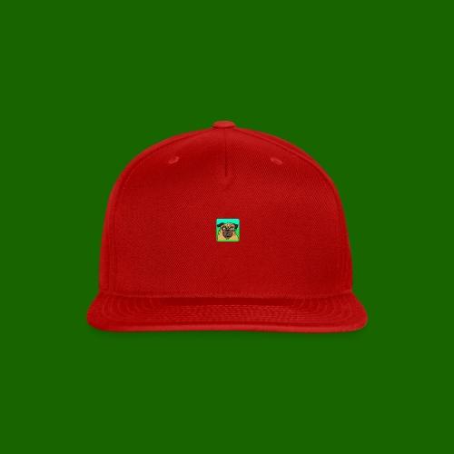 TheBratPug TEAM PLAYER - Snap-back Baseball Cap