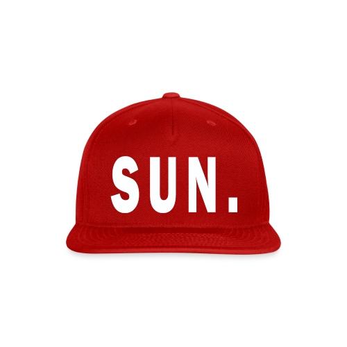 SUN - Snap-back Baseball Cap