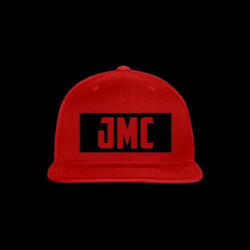JMC's Black Logo - Snap-back Baseball Cap