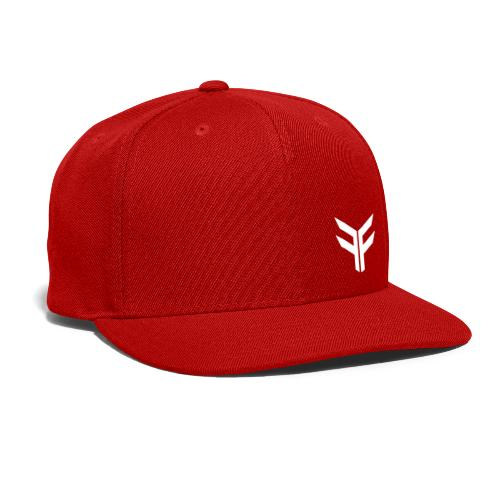 FAITHFIRE LOGO - WHITE - Snap-back Baseball Cap