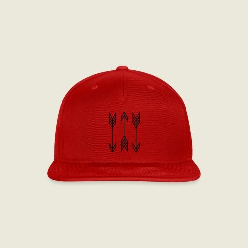 arrow symbols - Snap-back Baseball Cap