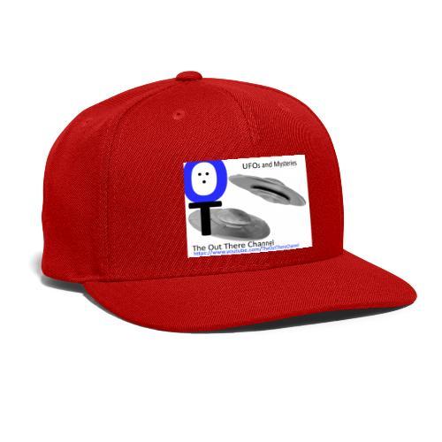 Outthere UtubeLogo2017 with Crew Back Logo - Snap-back Baseball Cap
