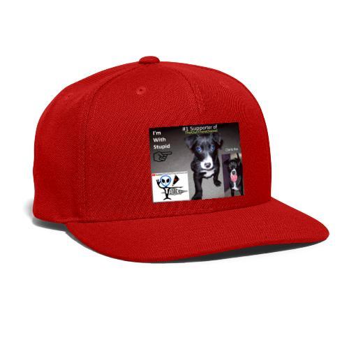 OTchanCharlieRoo with Crew Back Logo - Snap-back Baseball Cap