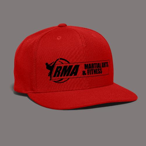RMA-full-logo-Front-1clr- - Snap-back Baseball Cap