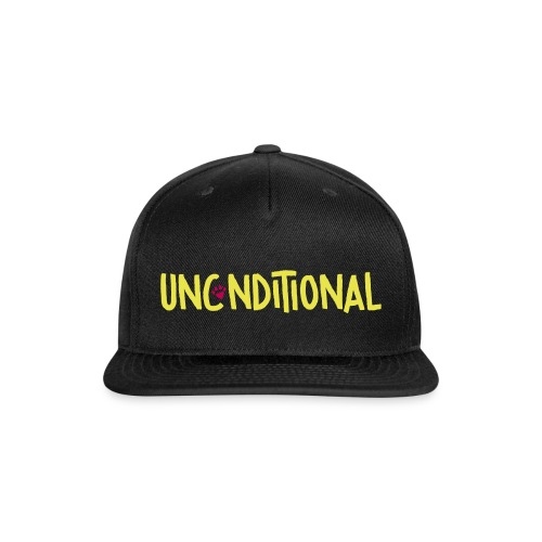 Unconditional signature - Snap-back Baseball Cap