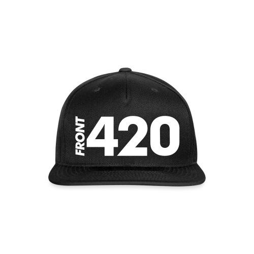 Front 420 - Snap-back Baseball Cap