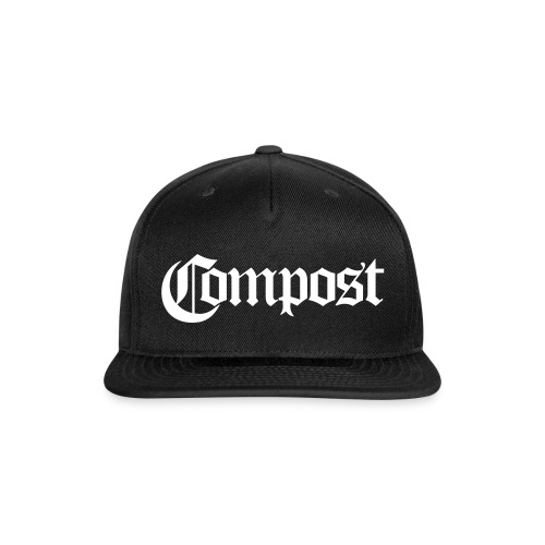Compost - Snap-back Baseball Cap