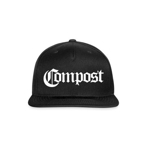 Compost - Snapback Baseball Cap
