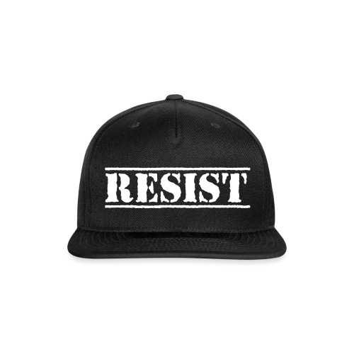 RESIST - Snap-back Baseball Cap