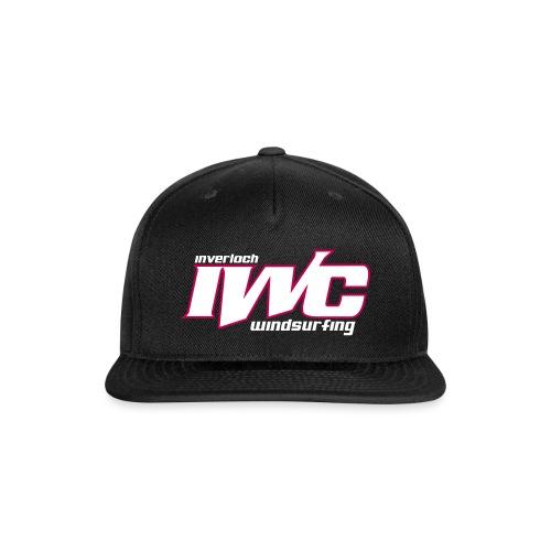 iwc text vector - Snapback Baseball Cap